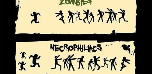 Zombies vs Necrophiliacs