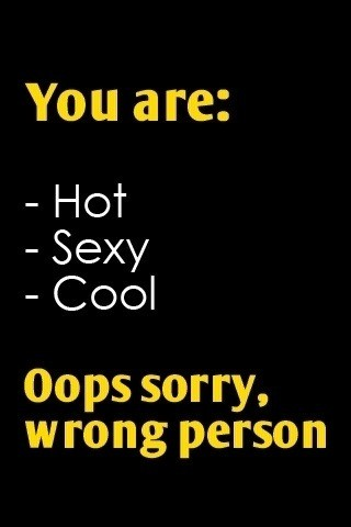You Are Hot, Sexy & Cool {SFW}