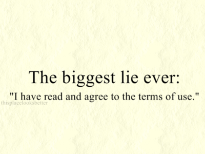 You Are Guilty Of The Biggest Lie Ever