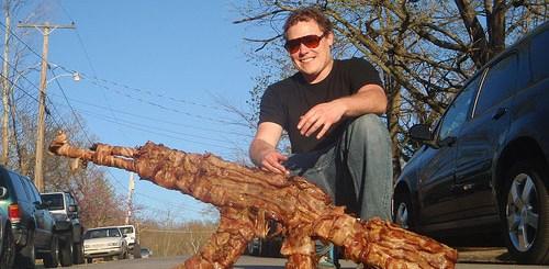 Bacon Gun. Tasty Delicious.