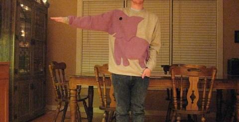 Super Awesome Elephant Sweatshirt