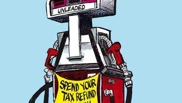 Spend Your Tax Refund At Your Gas Station
