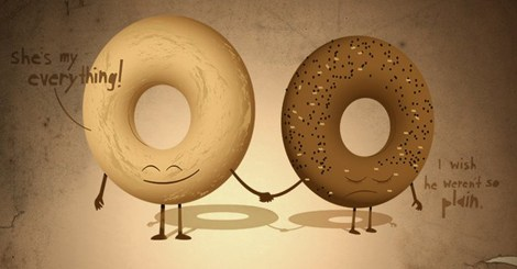 Bagel Love. It's Complicated.