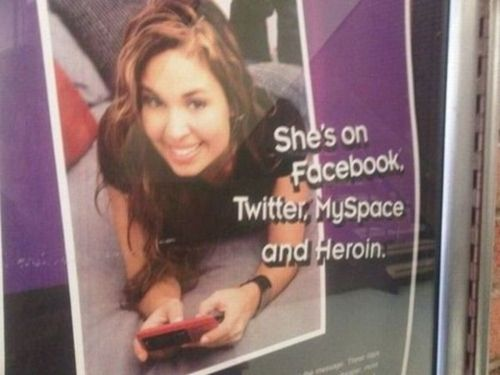 She's on Facebook, Twitter & Heroin