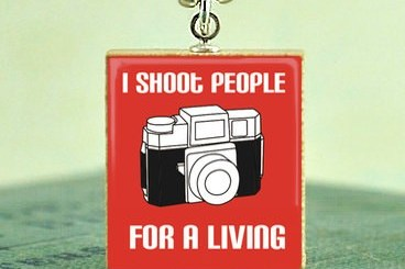 I Shoot people for a living.