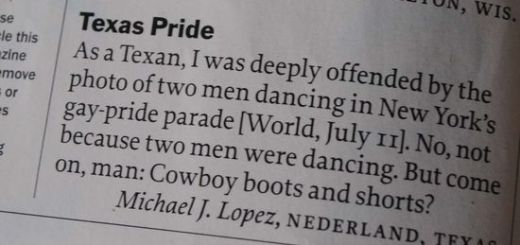 Texas pride runs deep.