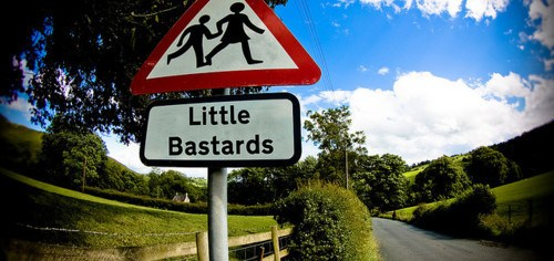 Watch out for little bastards