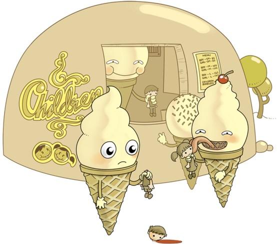 What if ice cream ate children?!