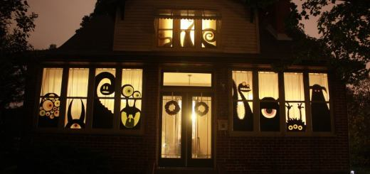 Best Halloween decorations I've seen yet.