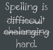 Spelling is difficoult.