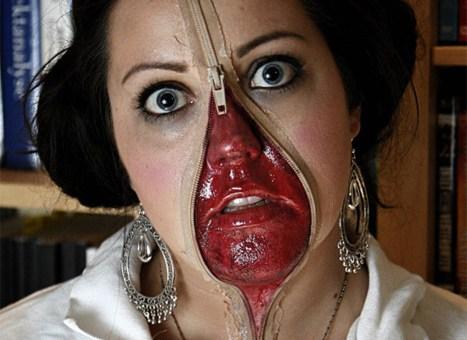 Best freaky costume yet.