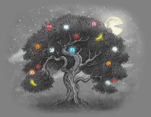 Ohh PacMan Tree, Ohh PacMan Tree