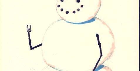 Punk Rock Snowman