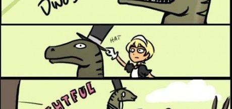 delightful dinosaur