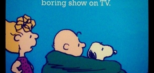 Love Boring TV Shows
