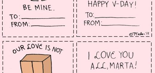 Strange Valentine's Day Cards