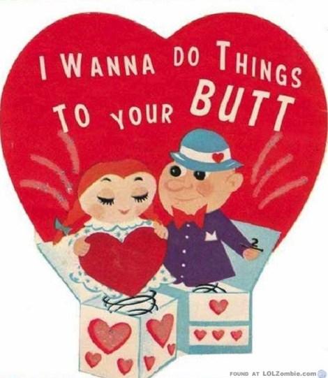 Valentine's Butt