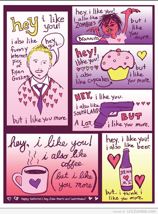 Gosling Beer Cupcake Valentine's Card