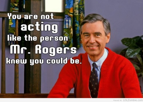 Mr Rogers Advice