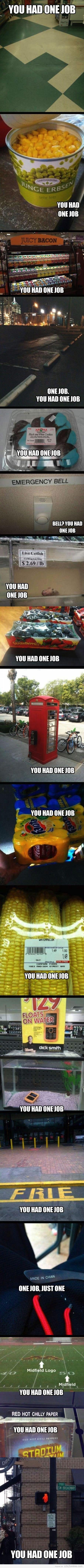 One Failed Job