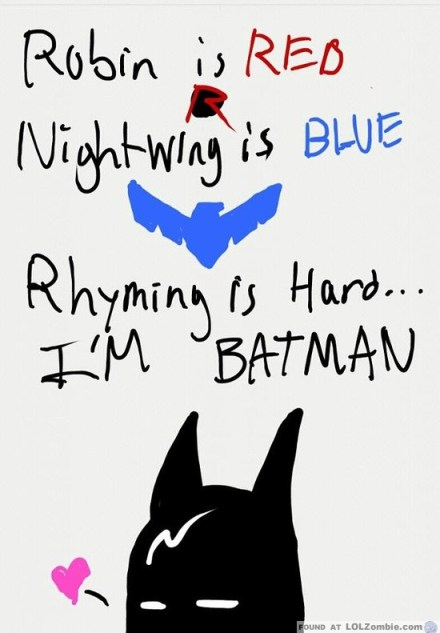 Batman Poem