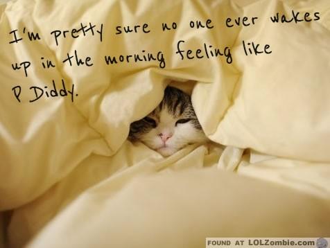 morning pdiddy
