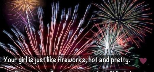 fireworks girlfriend