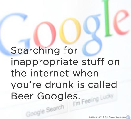 Googling Drunk