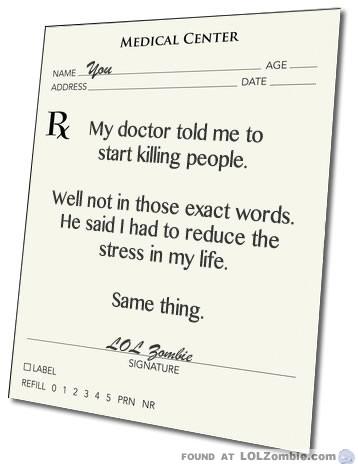 Prescription To Kill