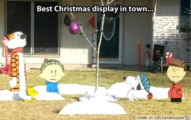 Calvin and Hobbs Charlie Brown Christmas
