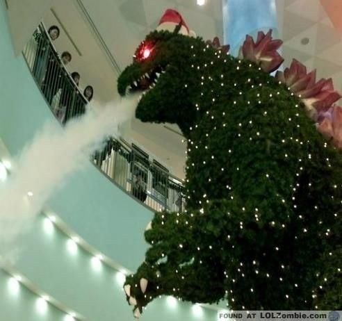 Godzilla Grinch