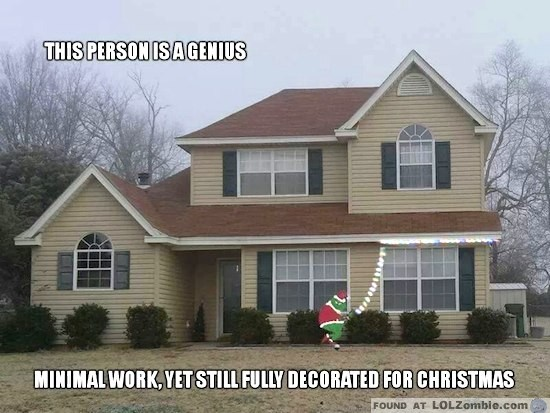 grinch stealing christmas lights
