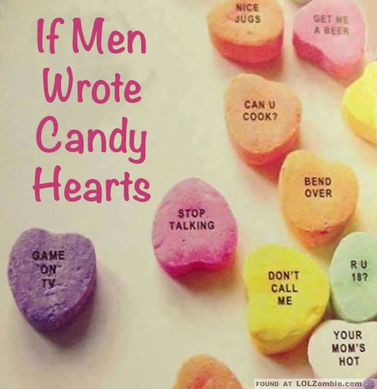Men Candy Hearts