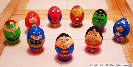 Super Easter Eggs