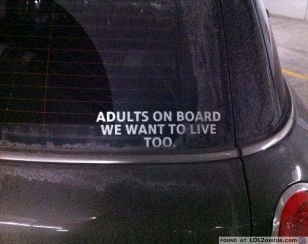 Adults Sticker