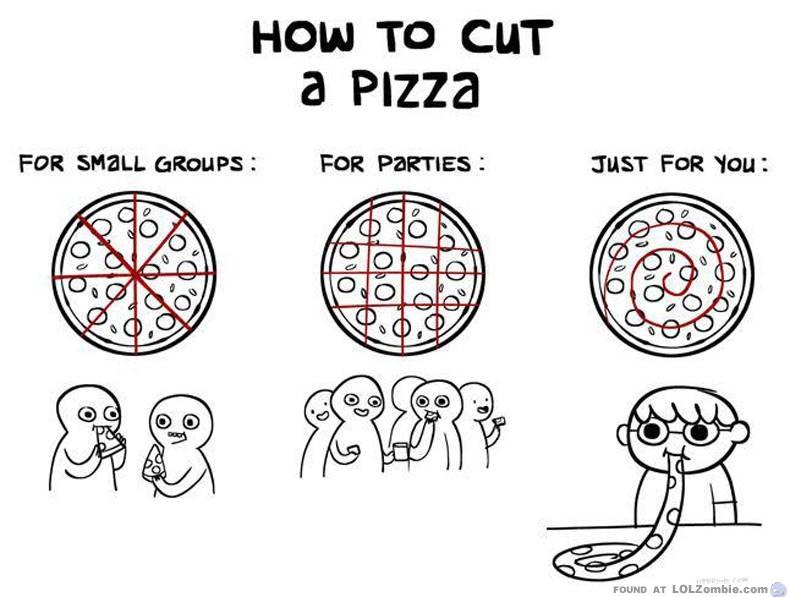 Cut a Pizza