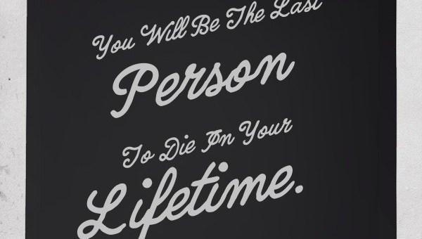 Last Person Quote