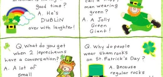 St Patricks Day Jokes