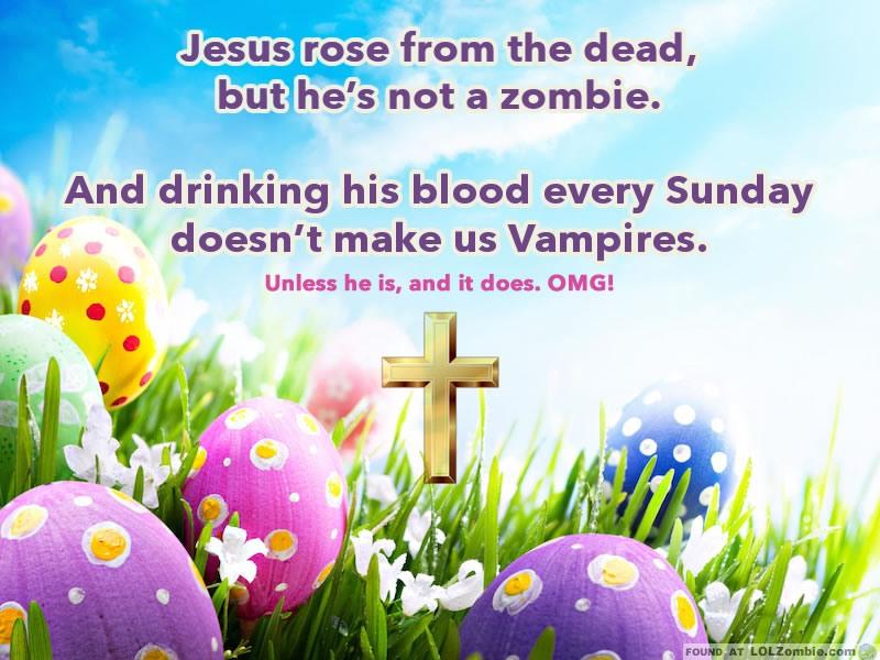 vampire zombie jesus