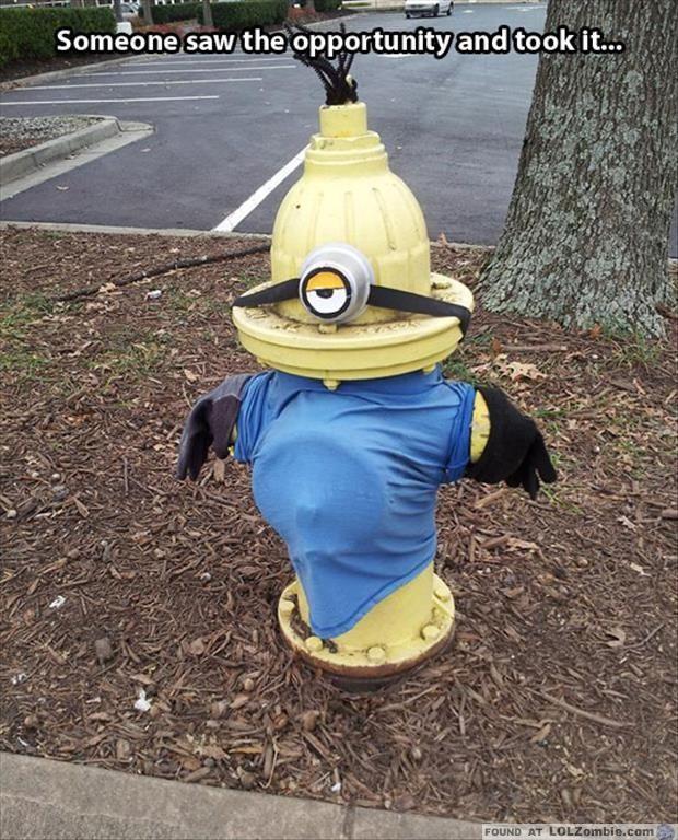 Minion Fire Hydrant