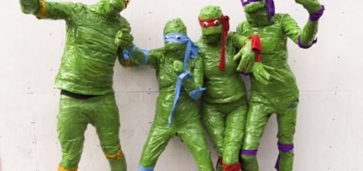 Duct-tape Teenage Mutant Ninja Turtles. Good idea, but it doesn't work.