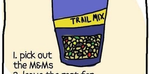 How to eat trail mix