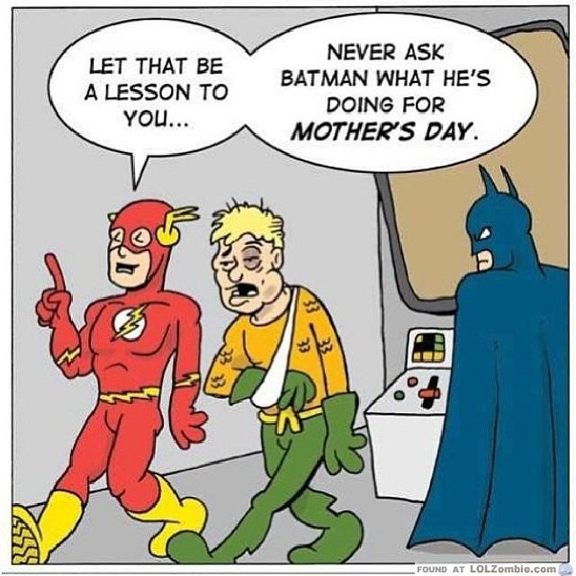Batman Mothers Day