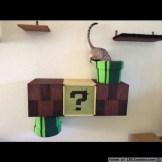 Cat Entering Mario Tube