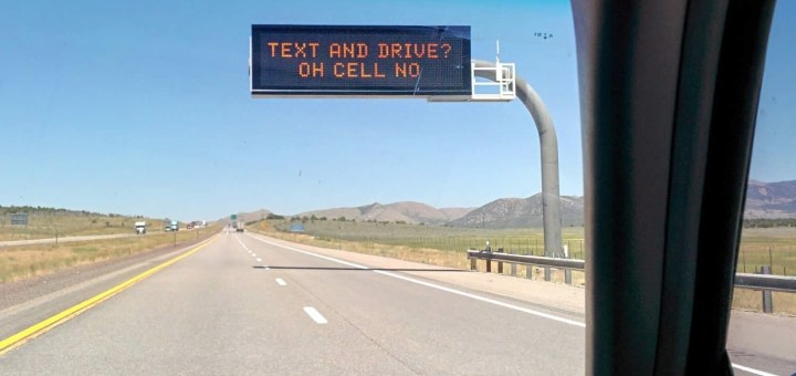 Text and Drive?