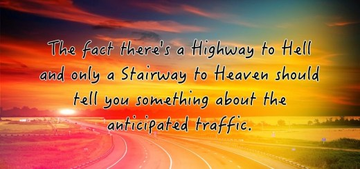 Highway Sunset Quote