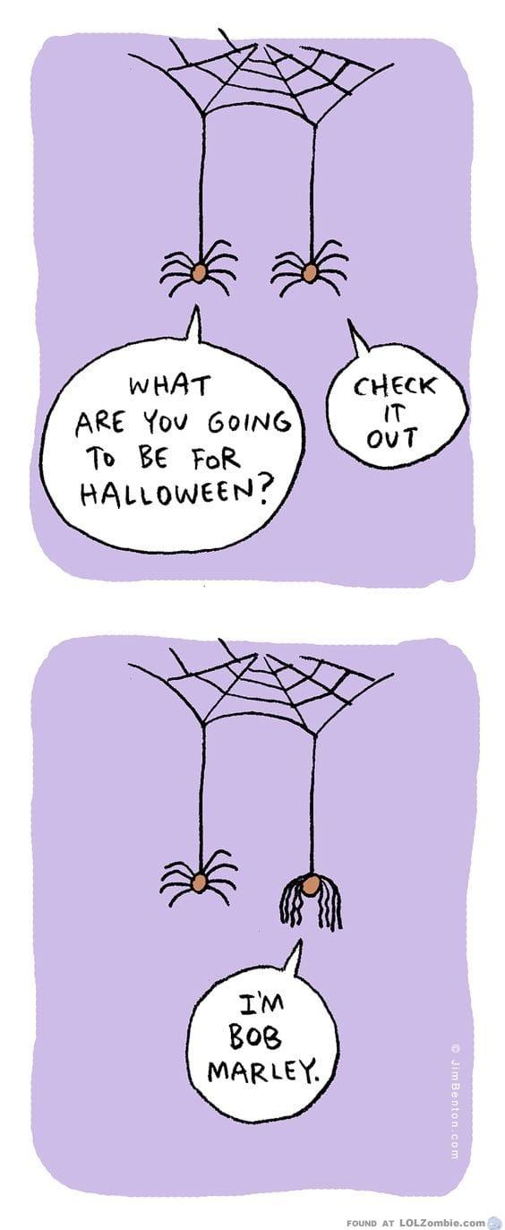 spider legs as hair