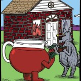 Kool-Aid Man helping Fox
