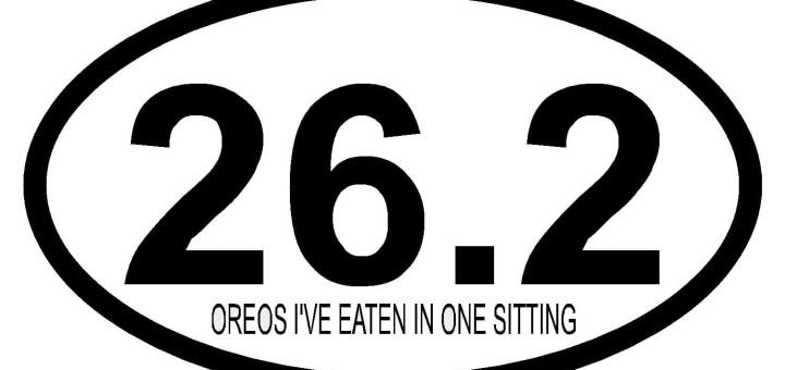26.2 Oreo's I've Eaten In One Sitting