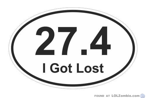 27.4 I Got Lost